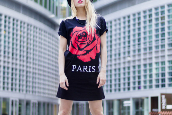 "Maxi Tee ""Rose Paris"""