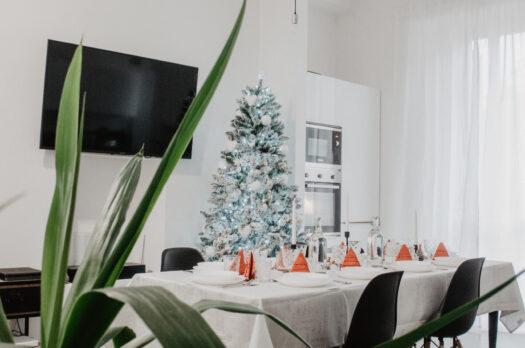White Christmas – Il look della mia sala da pranzo