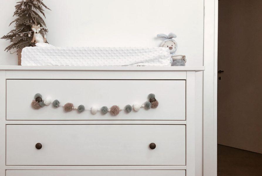 KIDS | Organizzazione del fasciatoio-cassettiera dei neonati